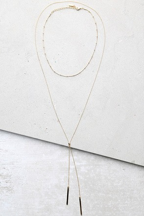 Run to You Gold Choker Necklace Set 1