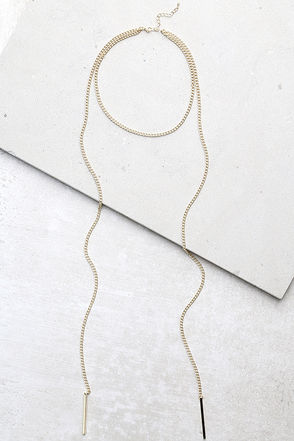 Pleasant Presence Gold Layered Choker Necklace at Lulus.com!