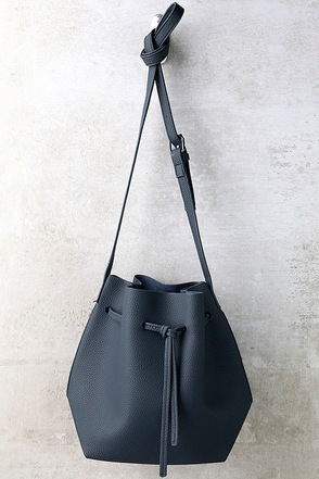 Ride West Grey Bucket Bag at Lulus.com!
