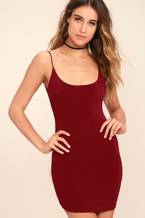 True Friends Black Bodycon Dress at Lulus.com!