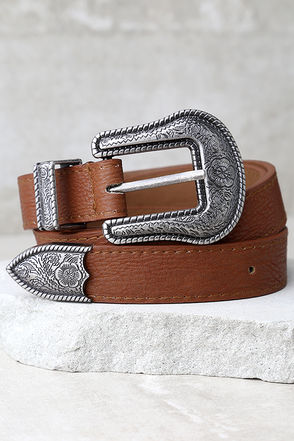 Wandering Wilderness Silver and Tan Belt at Lulus.com!