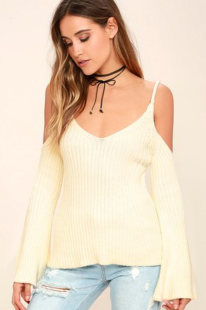 Gravity Grey Sweater Top at Lulus.com!