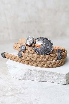 Imagination Khaki Belt at Lulus.com!