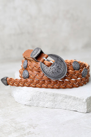 Imagination Tan Belt at Lulus.com!