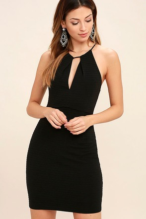All That Black Bodycon Dress at Lulus.com!