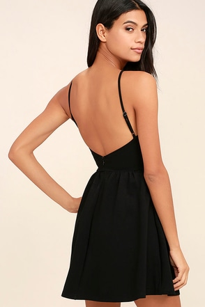 Oui Oui White Backless Skater Dress at Lulus.com!