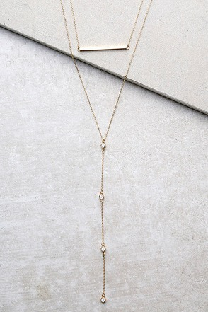 Kindness Rose Gold Layered Necklace at Lulus.com!