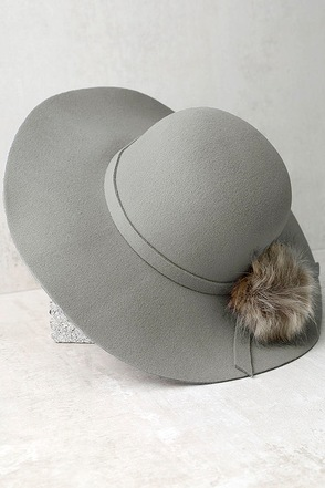 Enigmatic Force Black Fur Pompom Hat at Lulus.com!