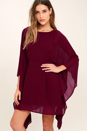 Heavenly Being Burgundy Kaftan Dress at Lulus.com!