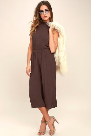 O'Neill Ronson Dusty Purple Jumpsuit at Lulus.com!