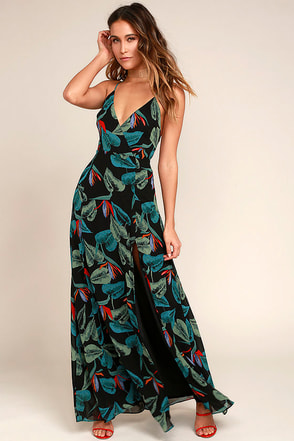 maxi dress short train
