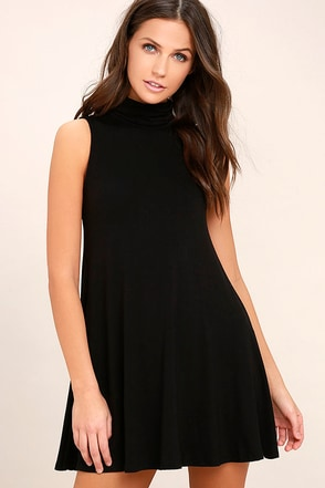 Carpe Diem Black Swing Dress 1