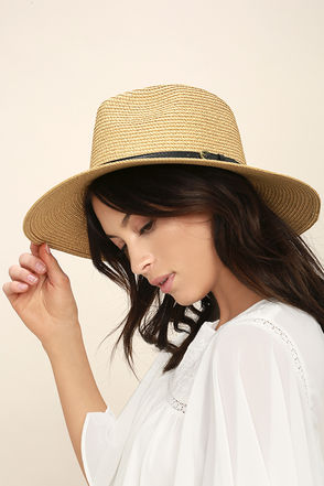 Adventure in Costa Rica Tan Straw Hat 1