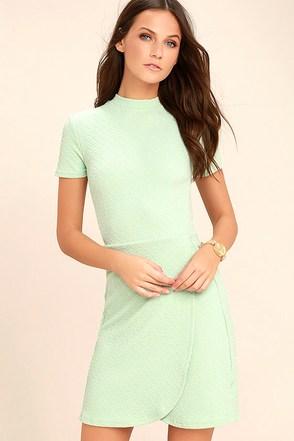 Black Swan Kylah Mint Green Bodycon Dress 1