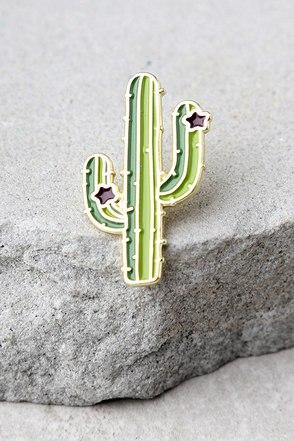 Zero Gravity Cactus Green Pin 1