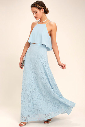 A light blue dress under $50