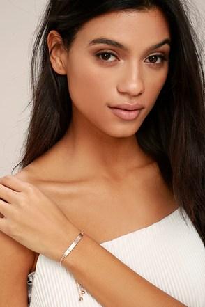 You Name It Rose Gold Bracelet 1