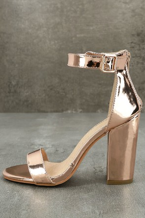 Metallic Shoes, Heels, Pumps, Gold Shoes and Flats | Lulus.com