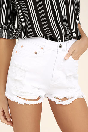High-Waisted Shorts, Short Shorts, Lace Shorts & Jean Shorts | Lulus