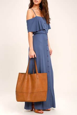 Conquer Brown Tote 1