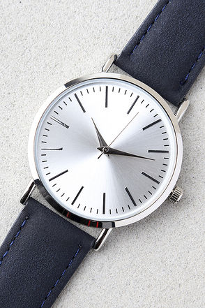 In an Instant Navy Blue Watch 1