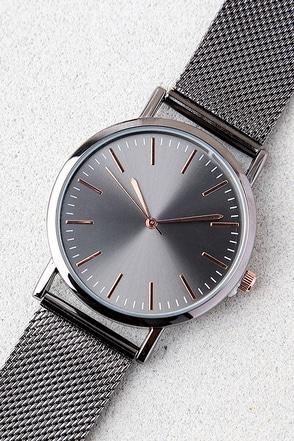 Tick-Tock Gunmetal Watch 1