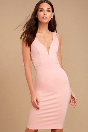 Gracefully Yours Blush Pink Dress 1