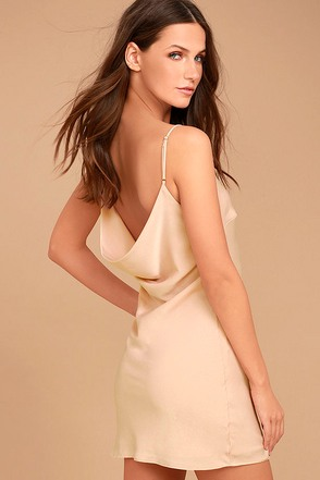 Make a Move Blush Pink Slip Dress 1