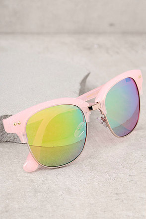 Perverse Barrett Pink Mirrored Sunglasses 1