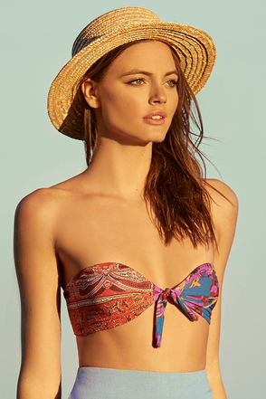 Wyeth Alexis Beige Straw Hat 1