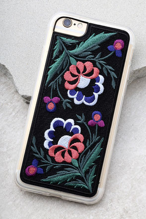 Zero Gravity Belle Embroidered iPhone 6 and 6s Case 1