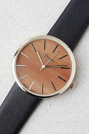 Synchronized Style Black Watch 1