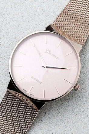 Time to Trend Rose Gold Watch 1