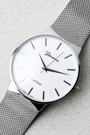 Time to Trend Silver Watch 1