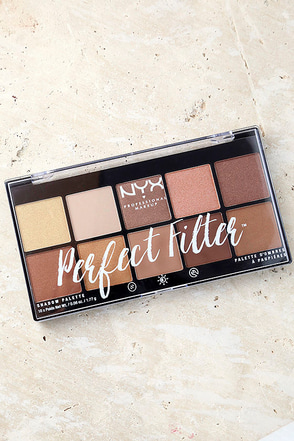 NYX Golden Hour Perfect Filter Eyeshadow Palette 1
