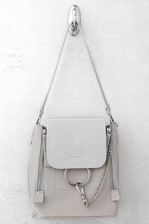 Sidewalk Stunner Grey Backpack 1