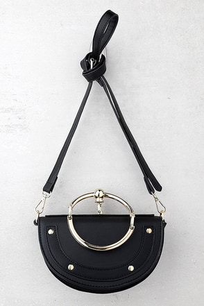 Trend Seeker Black Purse 1