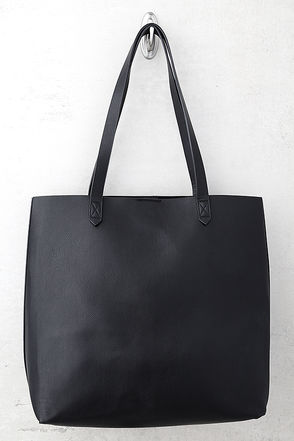 Perfect Simplicity Black Tote 1