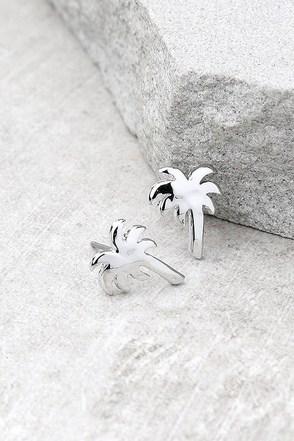 Under the Sun Silver Earrings 1