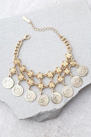 Charmed Life Gold Bracelet 1