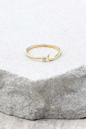 Venus Gold Ring 1