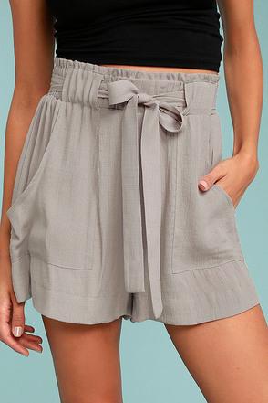 Black Swan Toryn Grey Shorts 2
