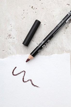NYX Never Plum Purple Slim Lip Pencil 2