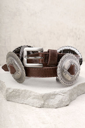 Lovestrength Phoenix Brown Leather Belt 3