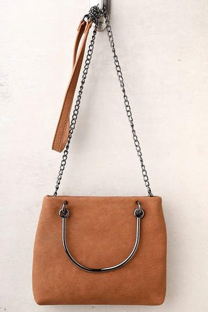 Charmed Style Tan Mini Bag 1