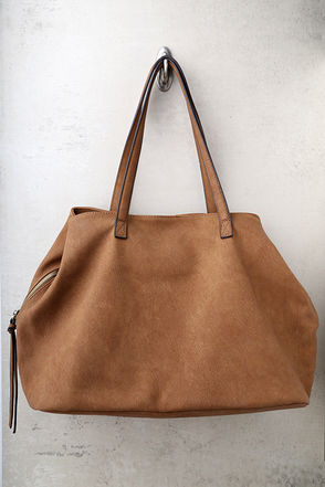 Uptown Mama Brown Tote 2