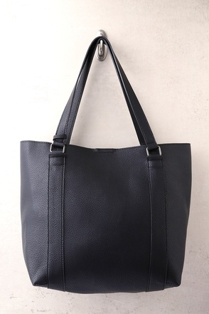 Style Script Black Tote Bag 1