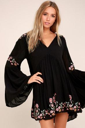 After 5 black dresses bohemian