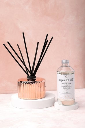 Gilded Muse Rose Gold Reed Diffuser 1