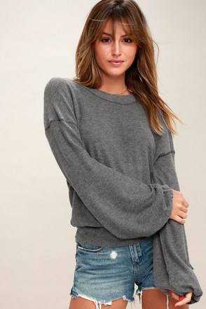 TGIF Charcoal Grey Sweatshirt 1
